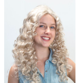 Interalia Curly Wig - Blonde