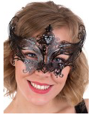Tomfoolery Champagne Metal Eye Mask