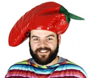 Tomfoolery Red Chilli Hat