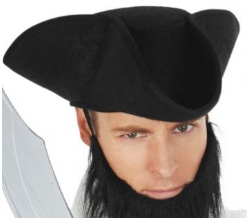 Tomfoolery Mottled Pirate Hat