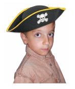 Tomfoolery Child's Pirate Hat
