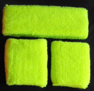HappyTime 80's Sweatbands Assorted