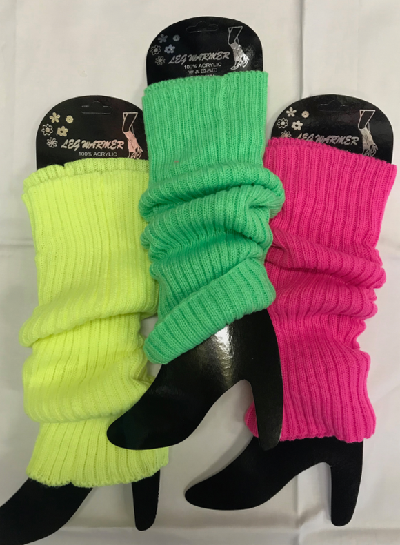 HappyTime Neon Legwarmers Assorted
