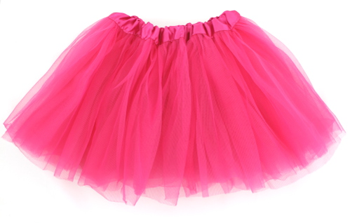 HappyTime 80's Hot Pink Tutu Skirt