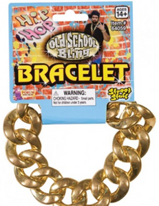 Tomfoolery Gold Chain Bracelet