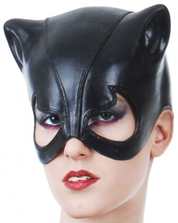 Tomfoolery Catwoman Face Mask