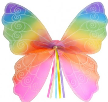 Tomfoolery Child's Rainbow Wings