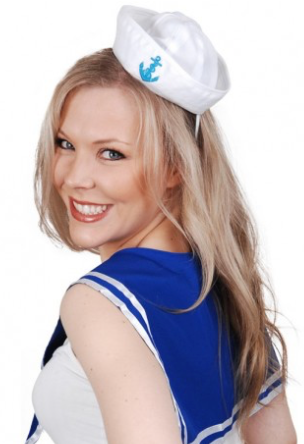 Tomfoolery Sailor Set w Mini Hat