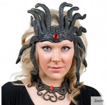 Tomfoolery Medusa Headpiece and Necklace