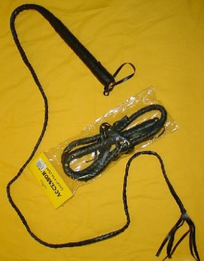 HappyTime Black 6ft Whip