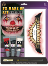 Carnival FX Makeup Kit - Evil Grin