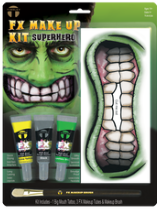 Carnival FX Makeup Kit - Superhero (Hulk)