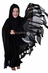 Tomfoolery Sheer Reaper Cape Child's