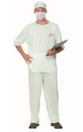Interalia Adult's Doctor Costume