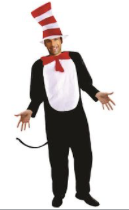 Interalia Adult Striped Cat Costume
