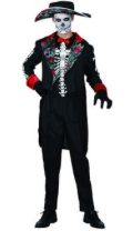 Interalia Day Of The Dead Man Costume