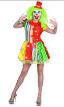 Interalia Clown Lady Costume