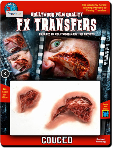 Tinsley FX Transfers - Gouged