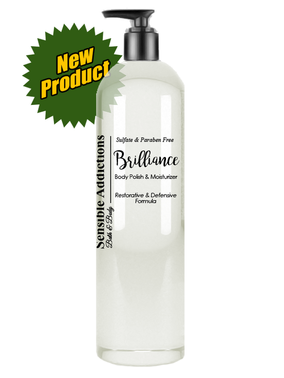 Brilliance Body Polish & Moisturizer 8oz