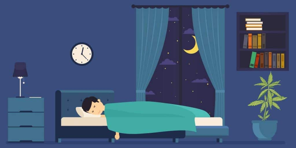 How CBD works to improve sleep