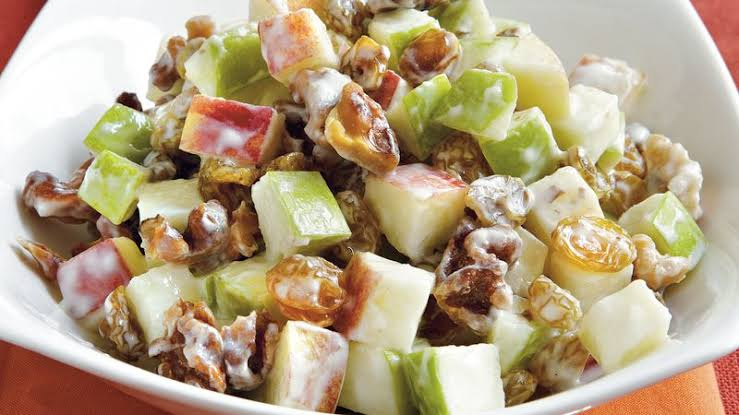 Stilton, Apple, Walnut and CBD Salad!