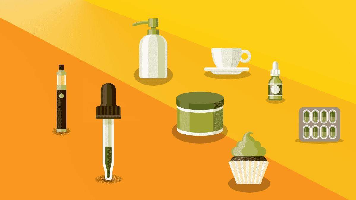 Non- Vaping ways to Enjoy CBD