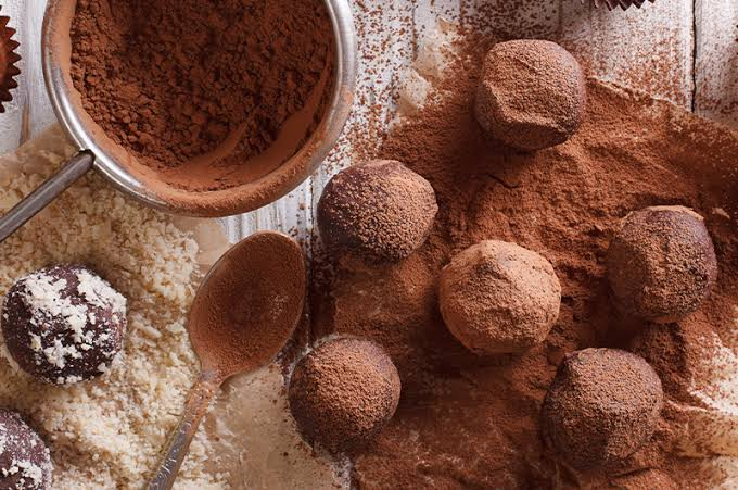 Chinese 5-Spice truffles!