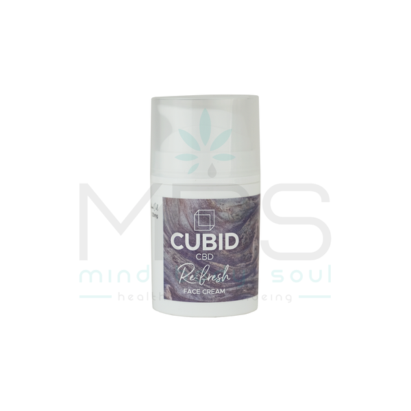 Cubid CBD Refresh Face Cream - MBS Health & Wellbeing