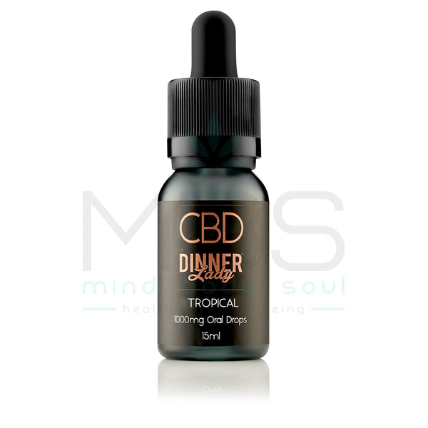 Dinner Lady CBD Oral Drops - Flavoured (15ml) - MBS Health & Wellbeing