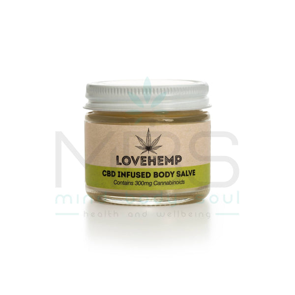 Love Hemp® Body Salve – 300mg CBD - 50ml - MBS Health & Wellbeing