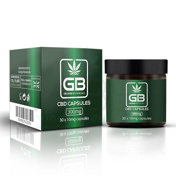 George Botanicals CBD Capsules (300mg) - MBS Health and Wellbeing