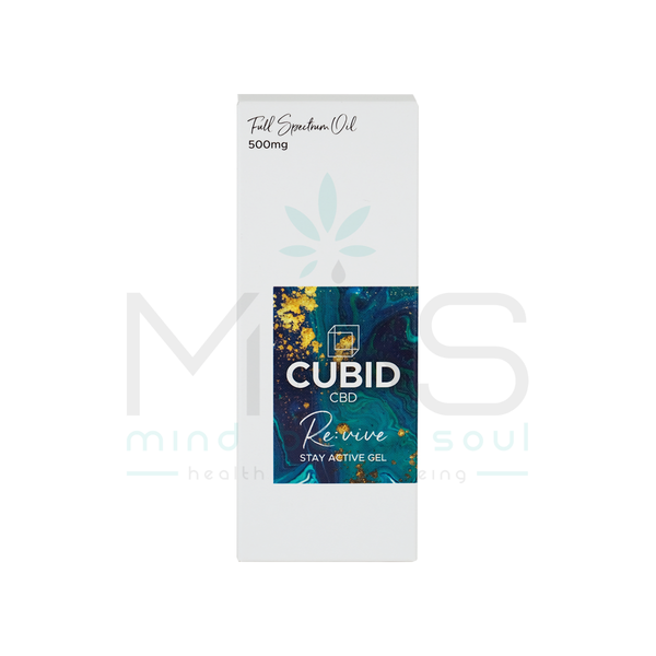 Cubid CBD Stay Active Gel (500mg) - MBS Health & Wellbeing