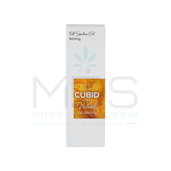 Cubid CBD Oil Drops - 500/1000mg - MBS Health and Wellbeing