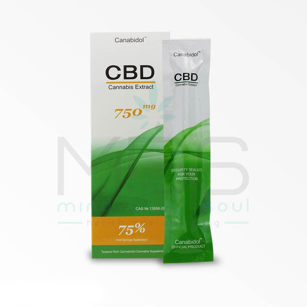 Canabidol CBD Oil Syringe (1ml) - MBS Health & Wellbeing