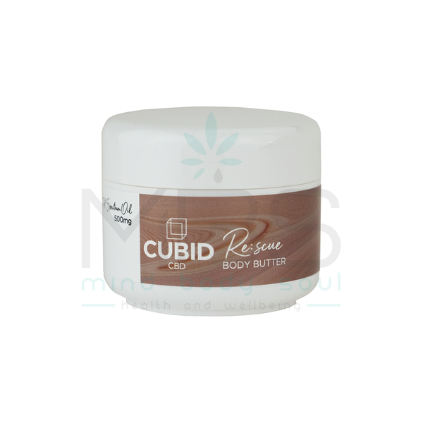 Cubid CBD Rescue Body Butter (500mg) - MBS Health & Wellbeing