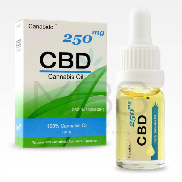 Canabidol CBD Oil Drops - MBS Health & Wellbeing