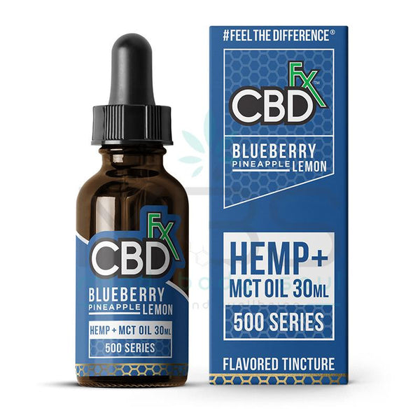 CBDfx Oil Tincture - Blueberry Pineapple Lemon (500mg,1000mg,1500mg) - MBS Health & Wellbeing