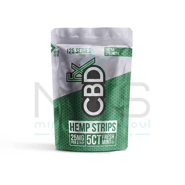 CBDfx Sublingual CBD Strips (25mg) - MBS Health & Wellbeing