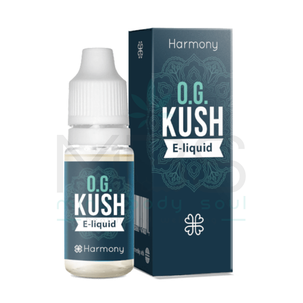 Harmony E Liquid - OG Kush (10ml) - MBS Health and Wellbeing