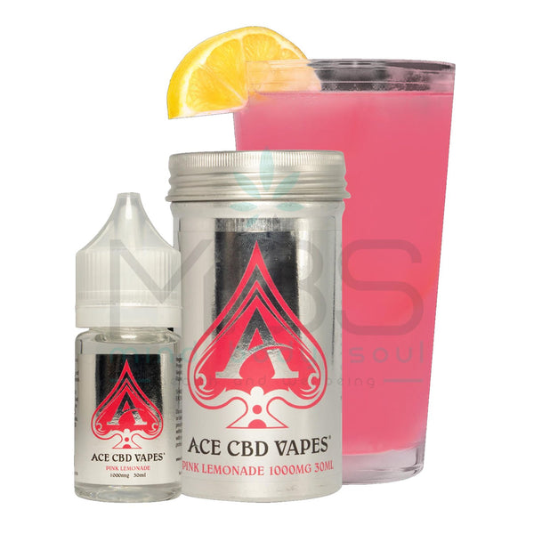 Ace CBD E-liquid - Pink Lemonade (30ml) - MBS Health and Wellbeing