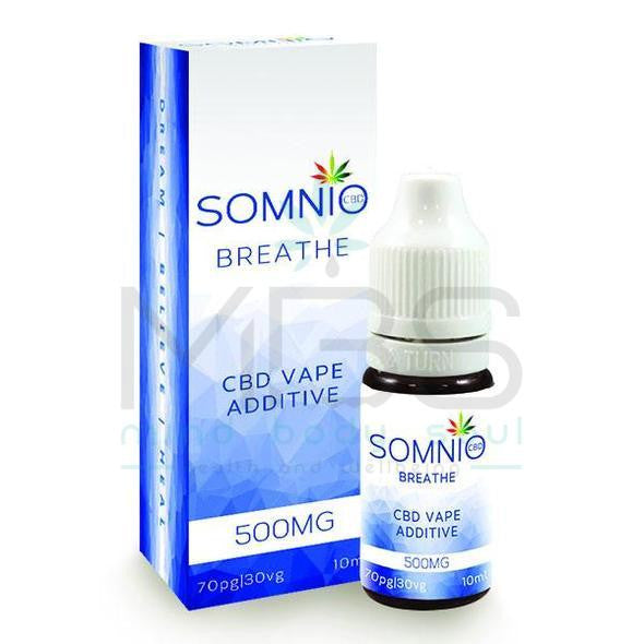 Somnio CBD E-Liquid Vape Additive - 500mg (10ml) - MBS Health & Wellbeing