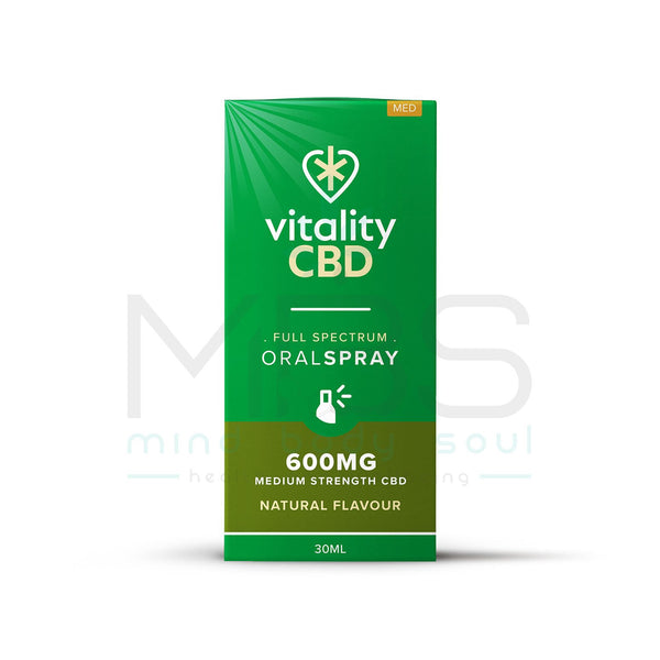 Vitality CBD Full Spectrum Oral Spray - Natural (1/2/4%) - MBS Health & Wellbeing
