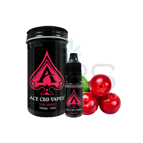 Ace CBD E-liquid - Very Berry (10ml) - MBS Health & Wellbeing