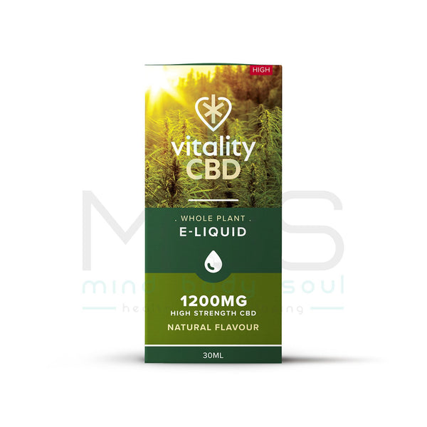 Vitality CBD Whole Plant E-Liquid - MBS Health & Wellbeing