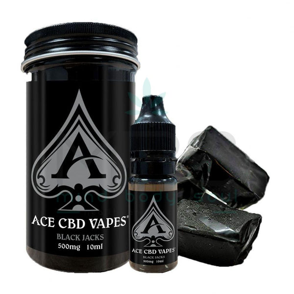 Ace CBD E-liquid - Black Jacks (10ml) - MBS Health & Wellbeing