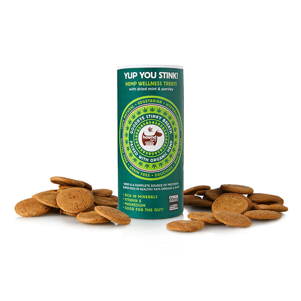 Dogs- Yup You Stink! Hemp Wellness Treats with dried mint & parsley - MBS Health & Wellbeing