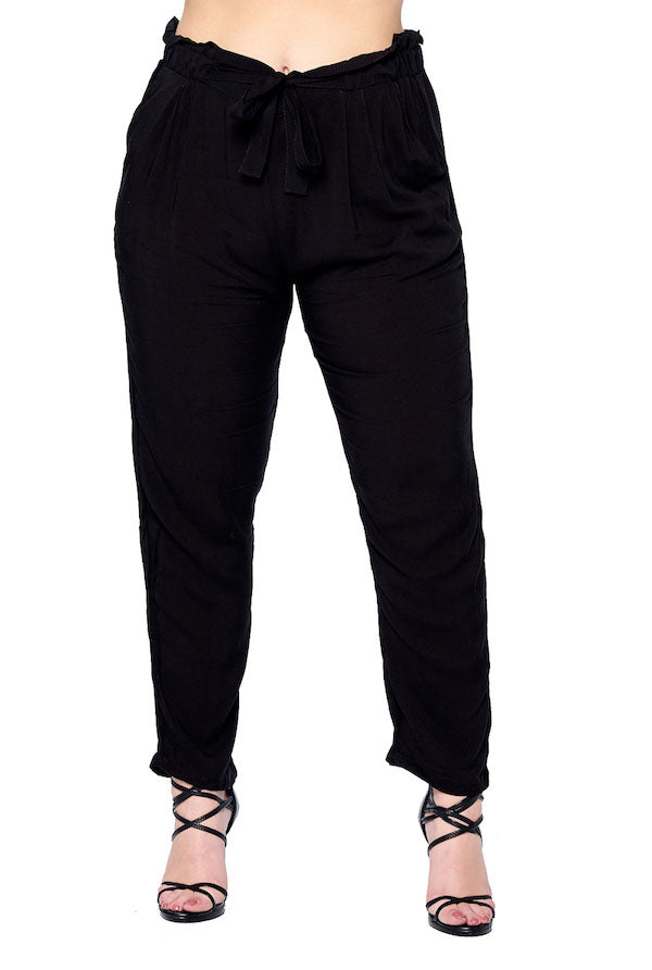 [Blue Age] Womens Light Weight Pants in Plus Size