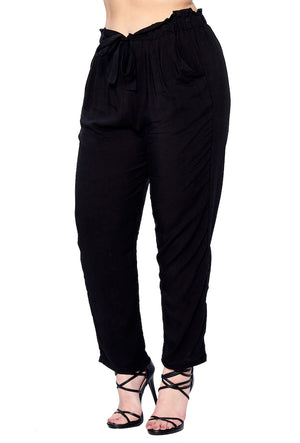 Load image into Gallery viewer, [Blue Age] Womens Light Weight Pants in Plus Size - Blueage Jeans