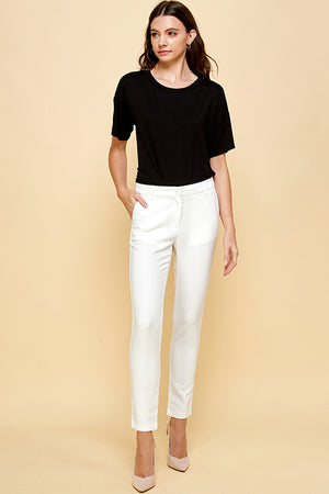 Load image into Gallery viewer, [Blue Age] Basic White Lightweight Pants