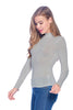 [Ambiance] Long Sleeve Top Shirts with Turtle Neck - Blueage Jeans